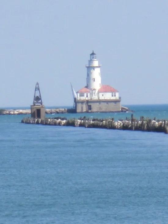 lighthouse, Lake Michigan, Chicago