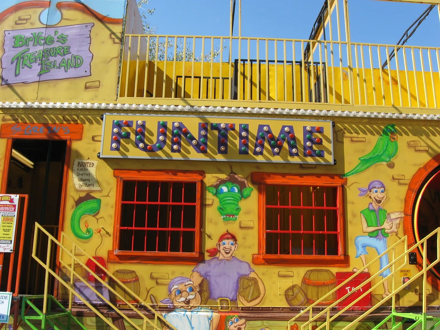 FUNTIME fun house, Fall Foliage Festival, Martinsville, Indiana