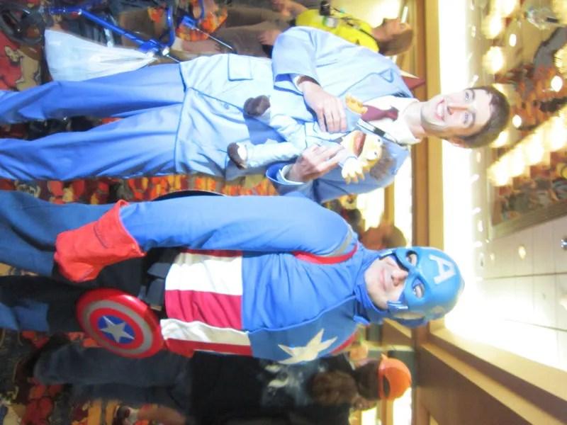 Gary, Walter, and Captain America