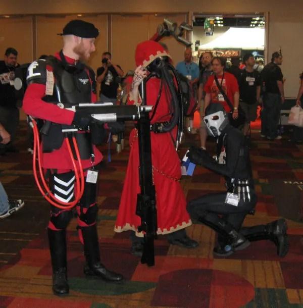"Inquisitorial Guard, ""Warhammer 40K"""