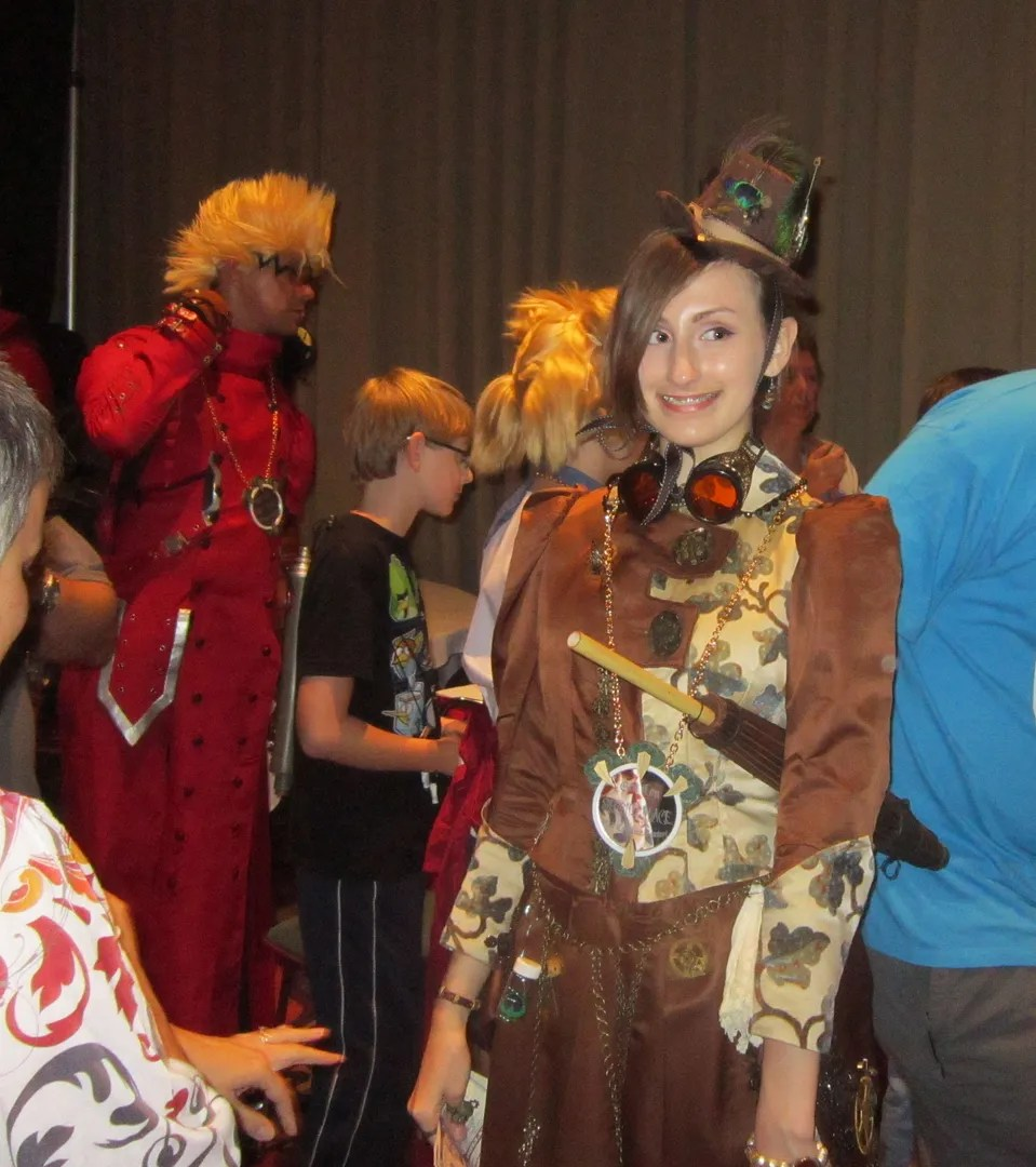 Steampunk Mary Poppins, GenCon 2013
