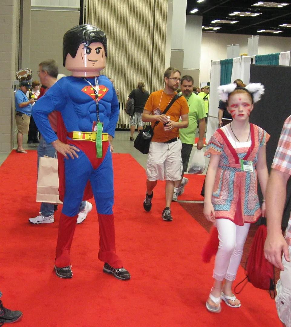 Lego Superman, GenCon 2013