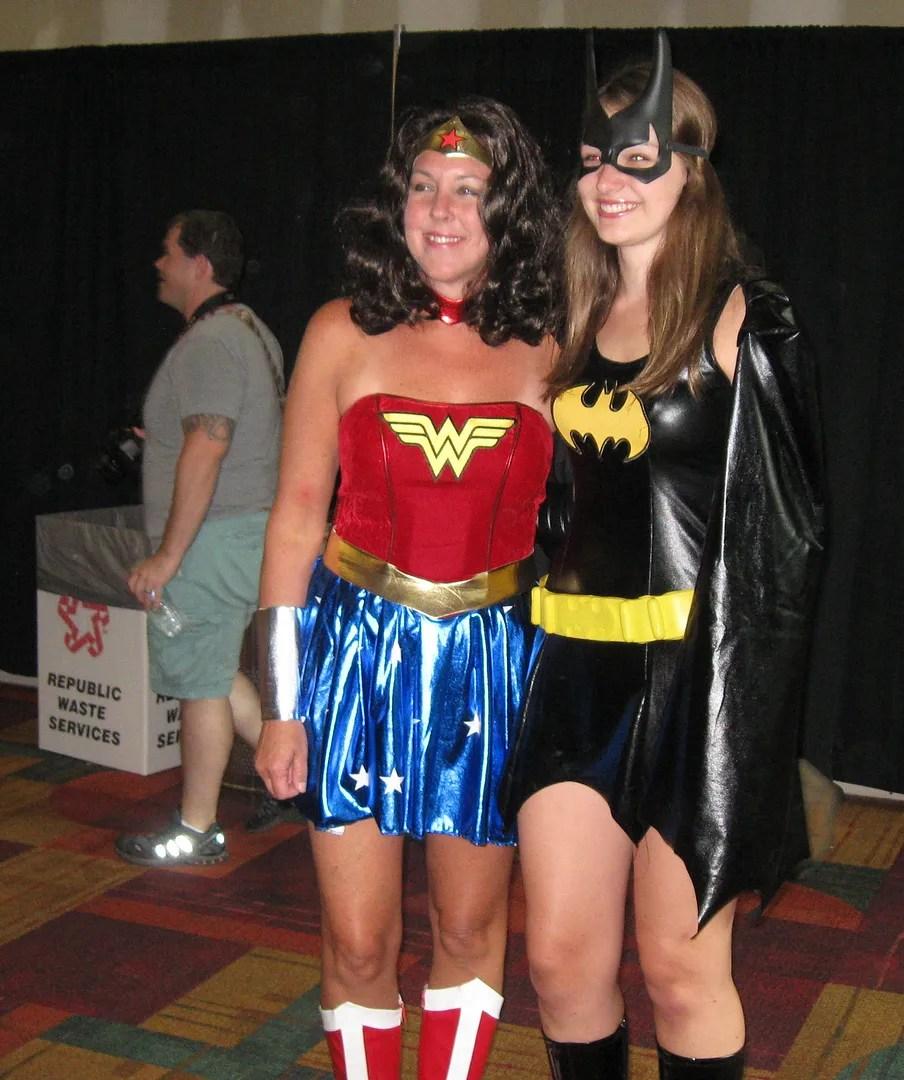 Wonder Woman, Batgirl, GenCon 2013