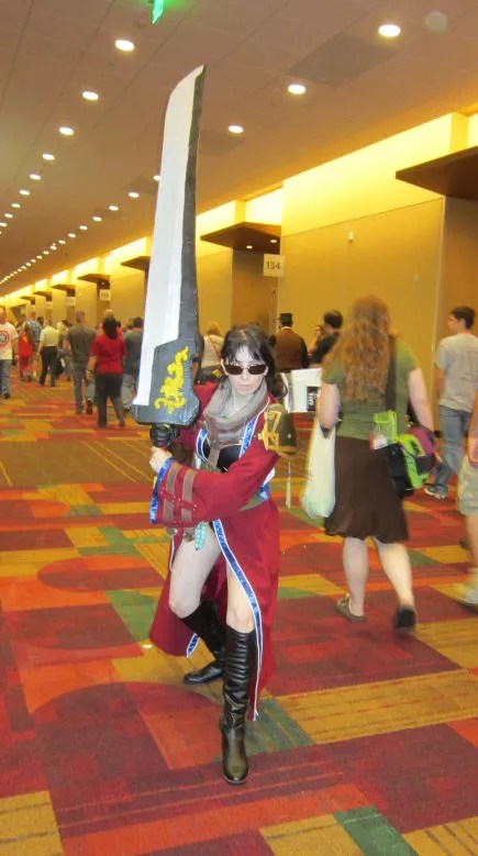 Auron, Final Fantasy X, Kingdom Hearts 2, GenCon 2013