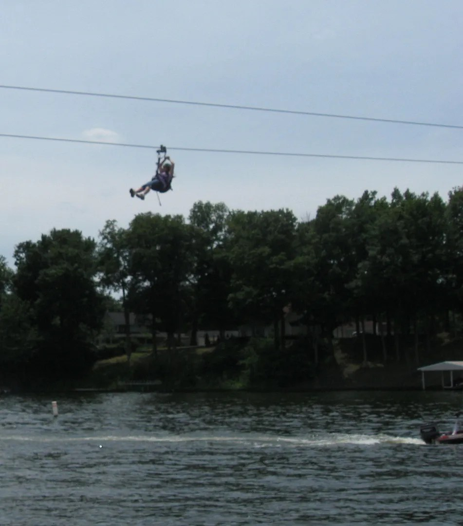 Zipline @ Indiana Beach