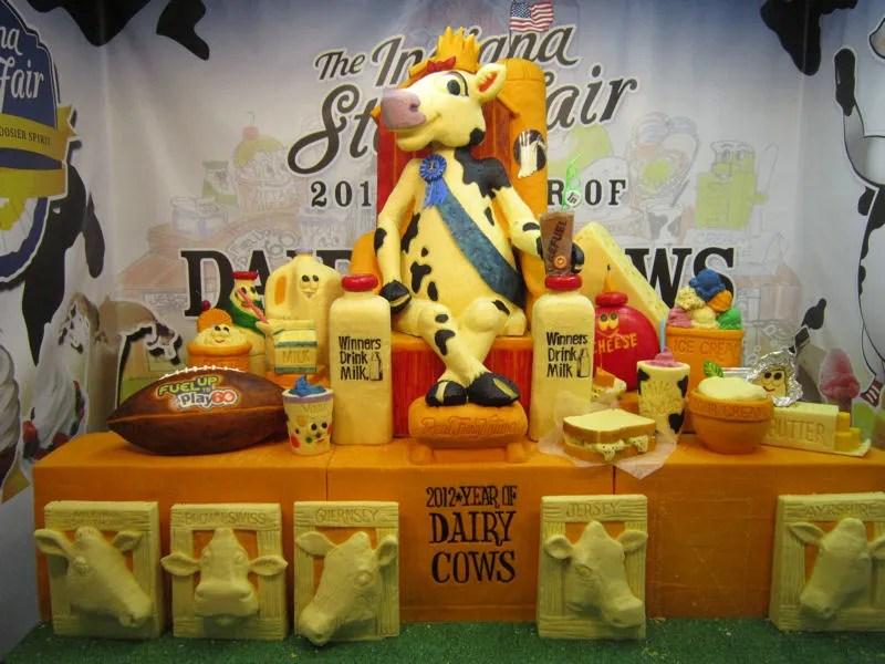 Sarah Kauffman Cheese Sculpture