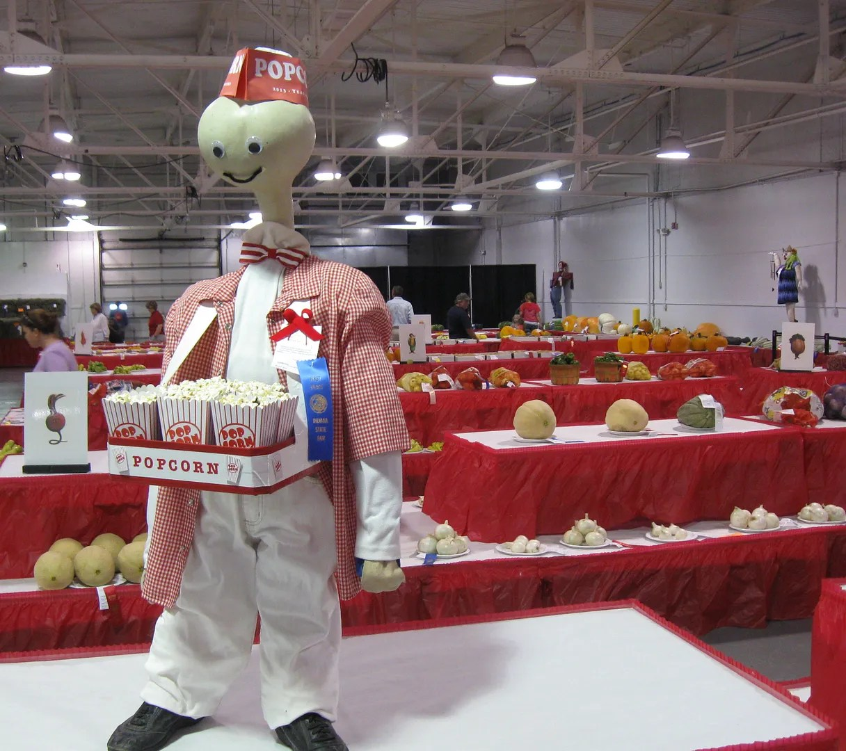 popcorn guy, Indiana State Fair