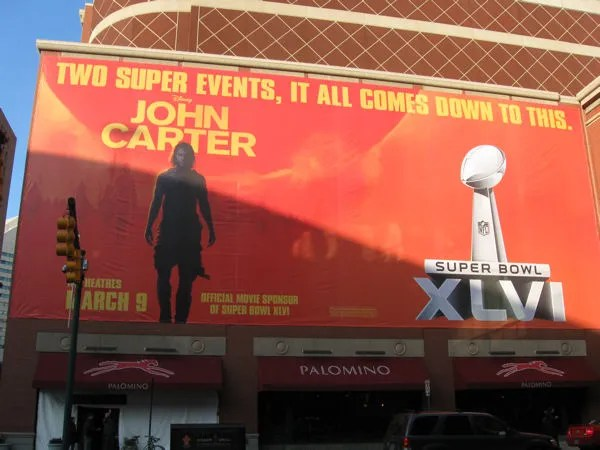 Super Bowl XLVI, John Carter