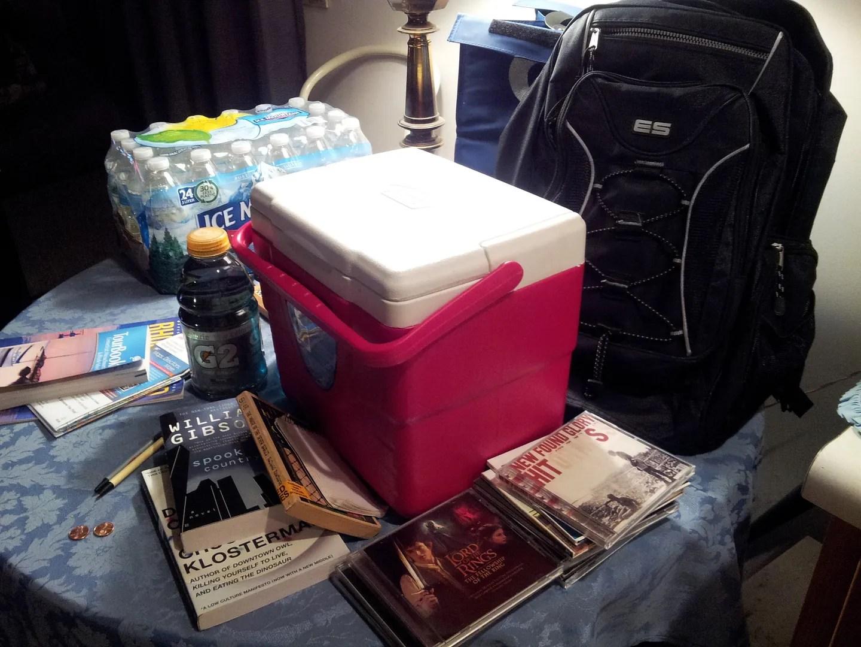 road trip supplies