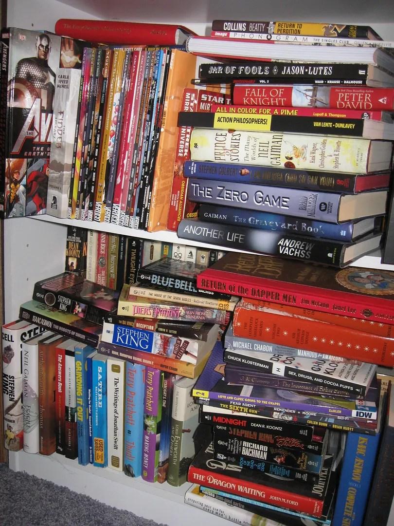 books, unread books