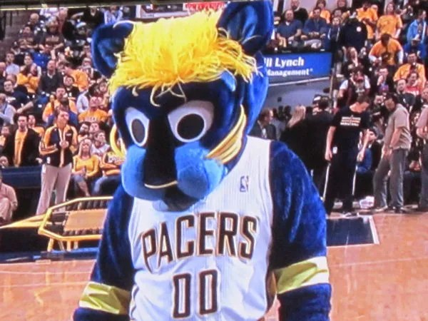 Boomer the Panther, Indiana Pacers
