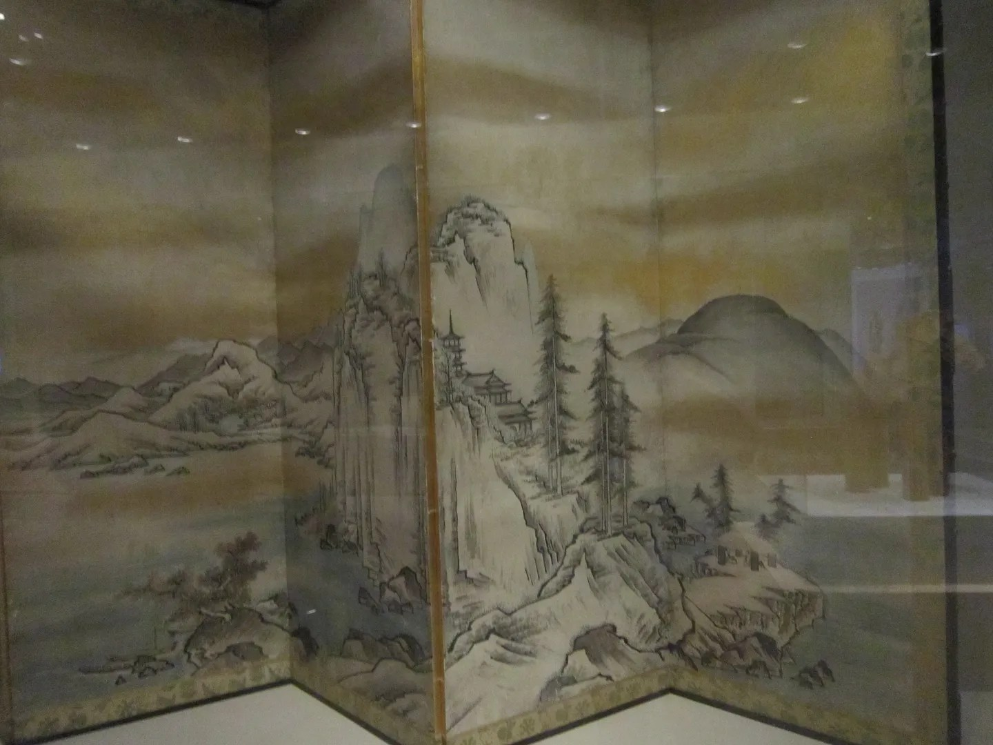 Japanese screen, Denver Art Museum