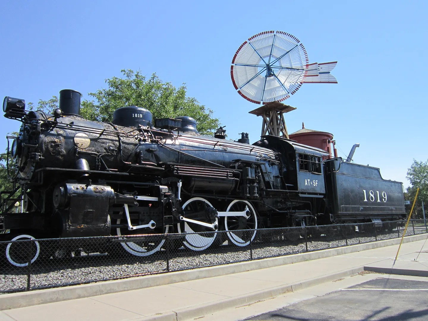Historic Lamar Railroad Depot, Colorado