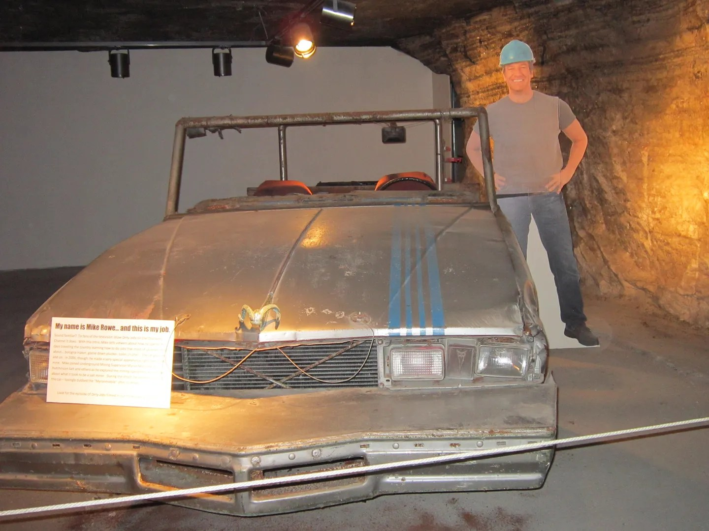 Mike Rowe, Dirty Jobs, Underground Salt Museum, Hutchinson, Kansas