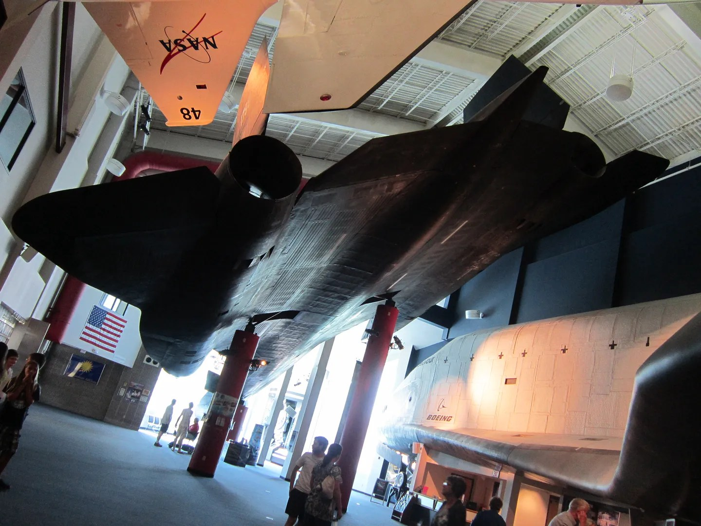 Lockheed SR-71A Blackbird, Kansas Cosmosphere & Space Center, Hutchinson, Kansas