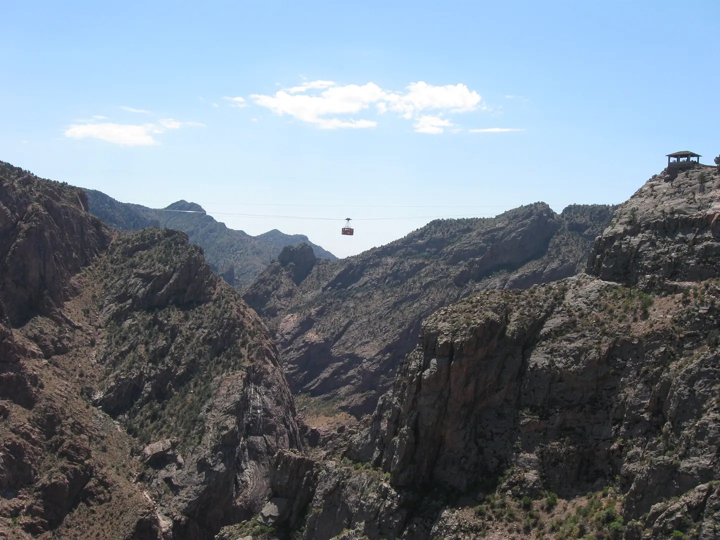 Aerial Tram, Royal Gorge Bridge, Canon City, Colorado