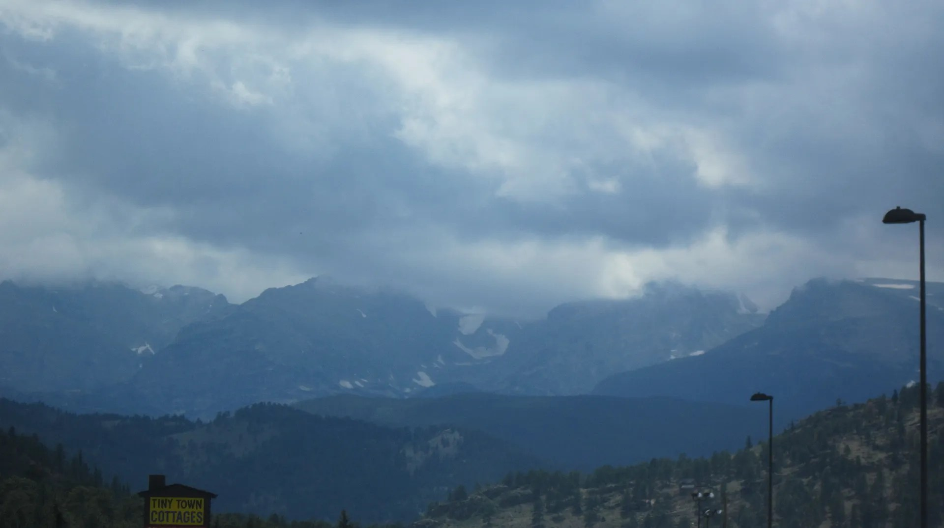 Rocky Mountains by Estes Park