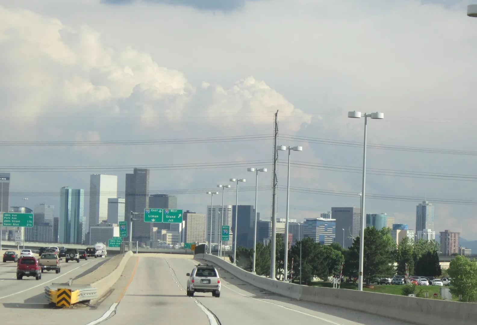 I-25 South to Denver, CO