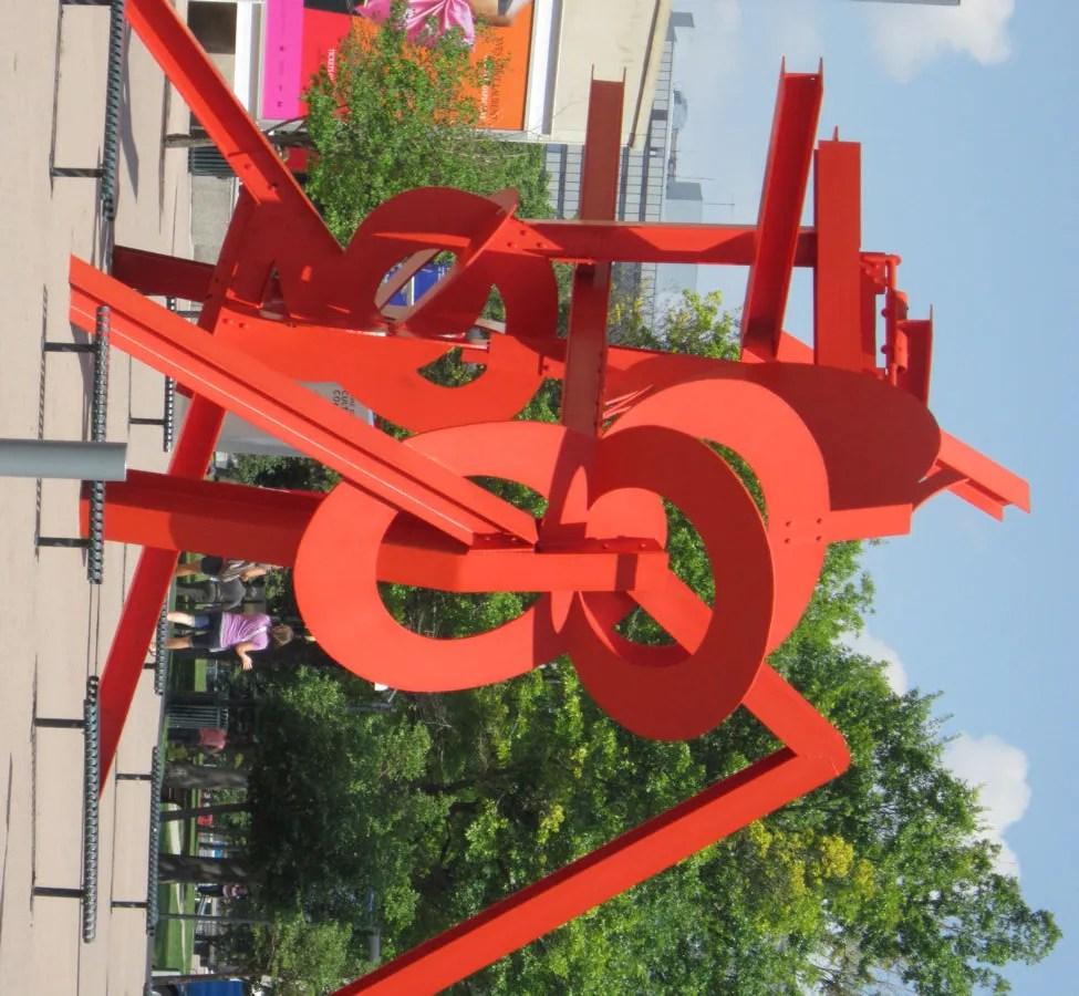 Lao Tzu, Mark di Suvero, Acoma Plaza, Denver, Colorado