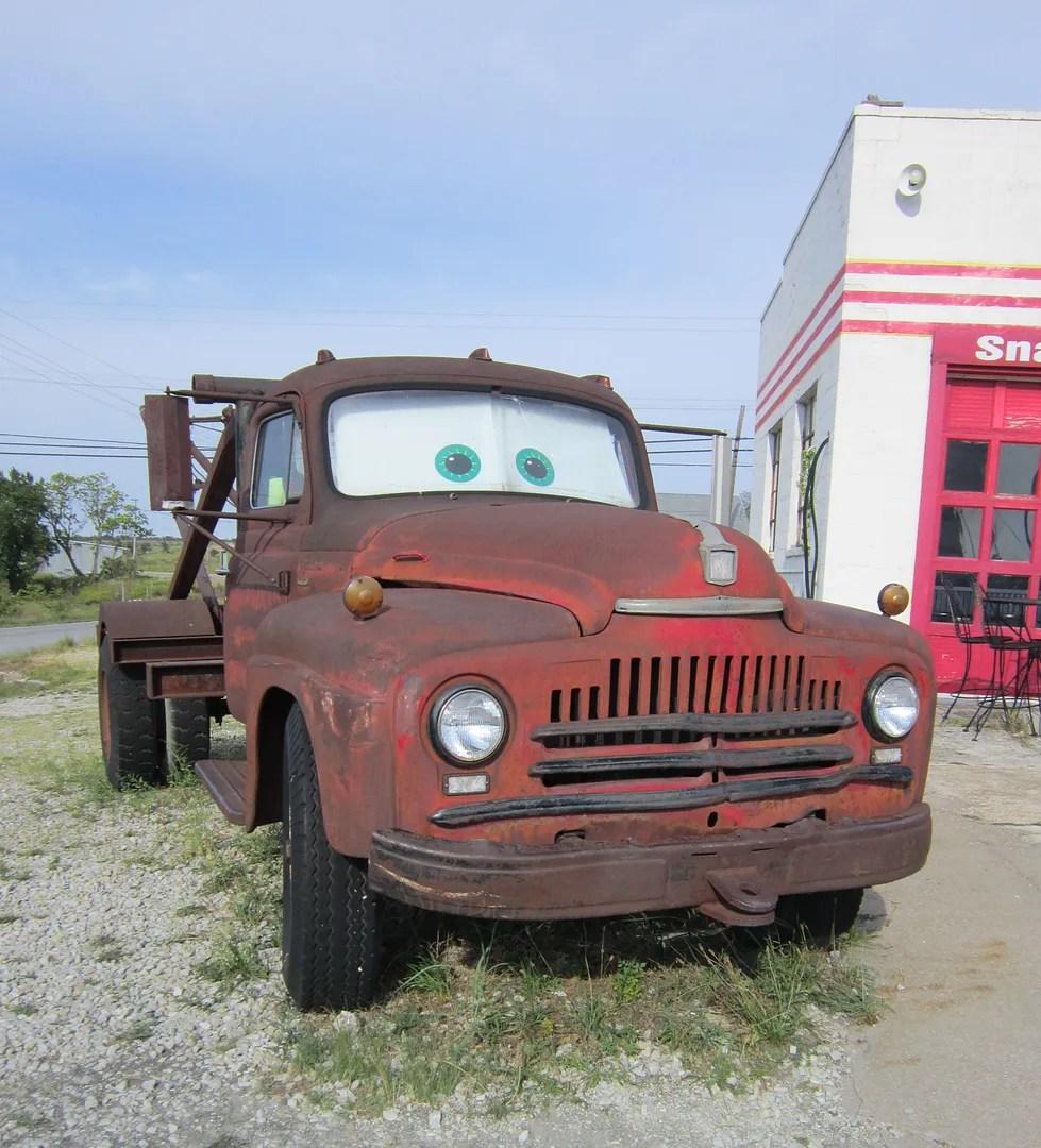 Tow Mater, Route 66, Galena, Kansas