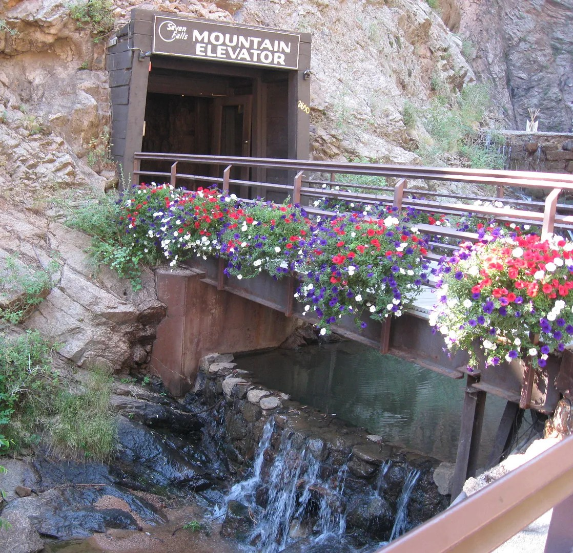 Seven Falls, Mountain Elevator, Colorado Springs