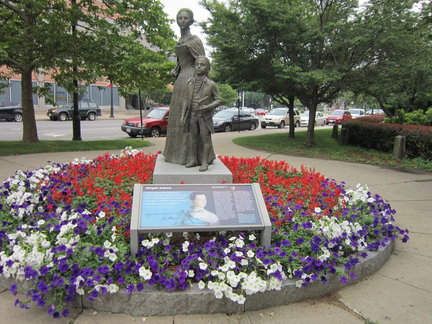 Abigail Adams statue, Quincy, Massachusetts