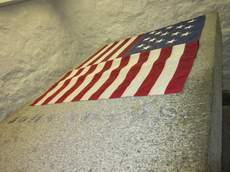 President John Adams crypt