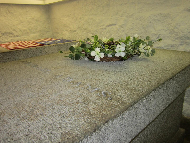 Abigail Adams crypt