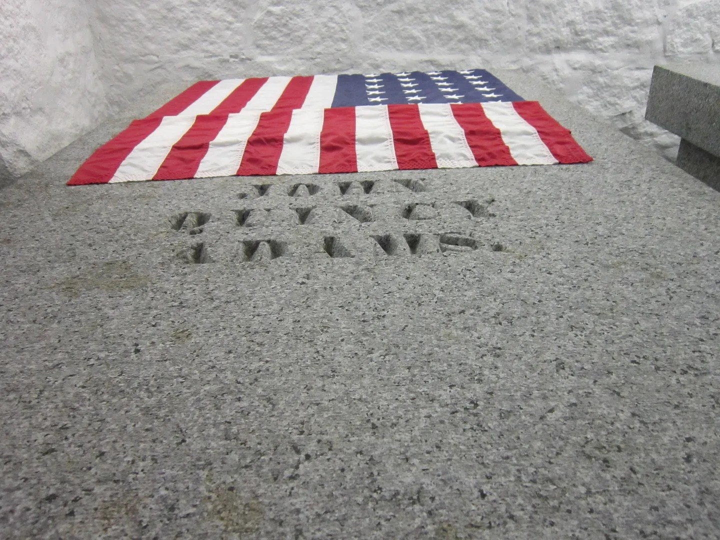 John Quincy Adams tomb