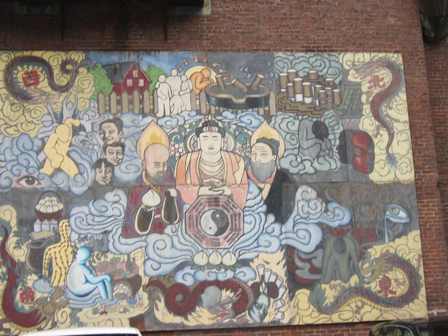 Chinatown art, Boston