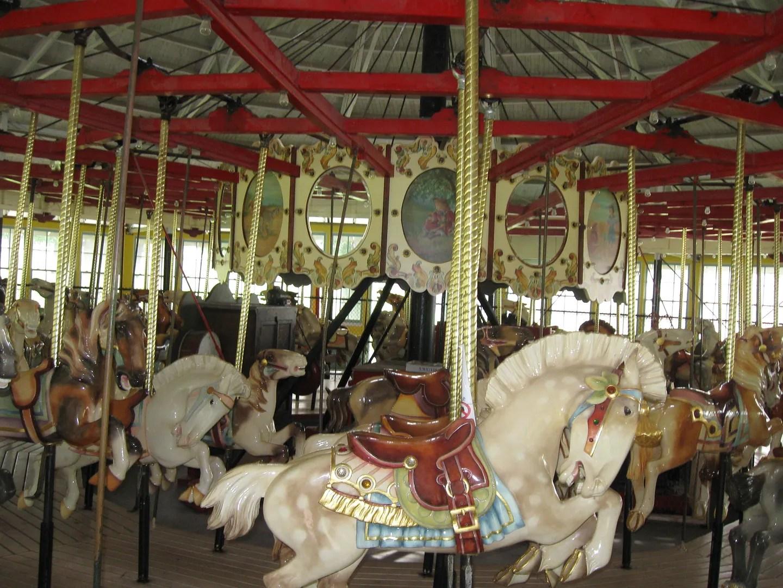 carousel horsies, Binghamton