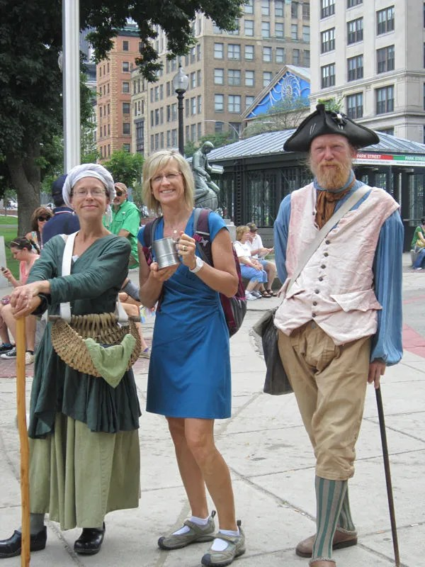 American Revolution cosplay