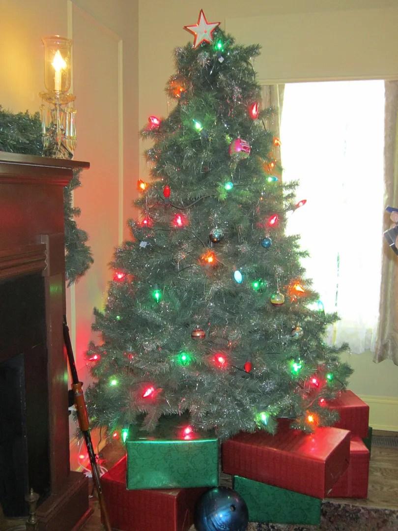 Christmas tree, A Christmas Story House, Cleveland