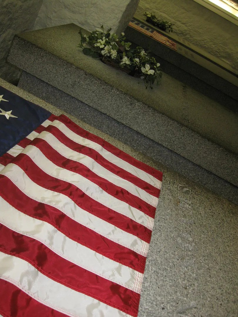 John Adams presidential crypt