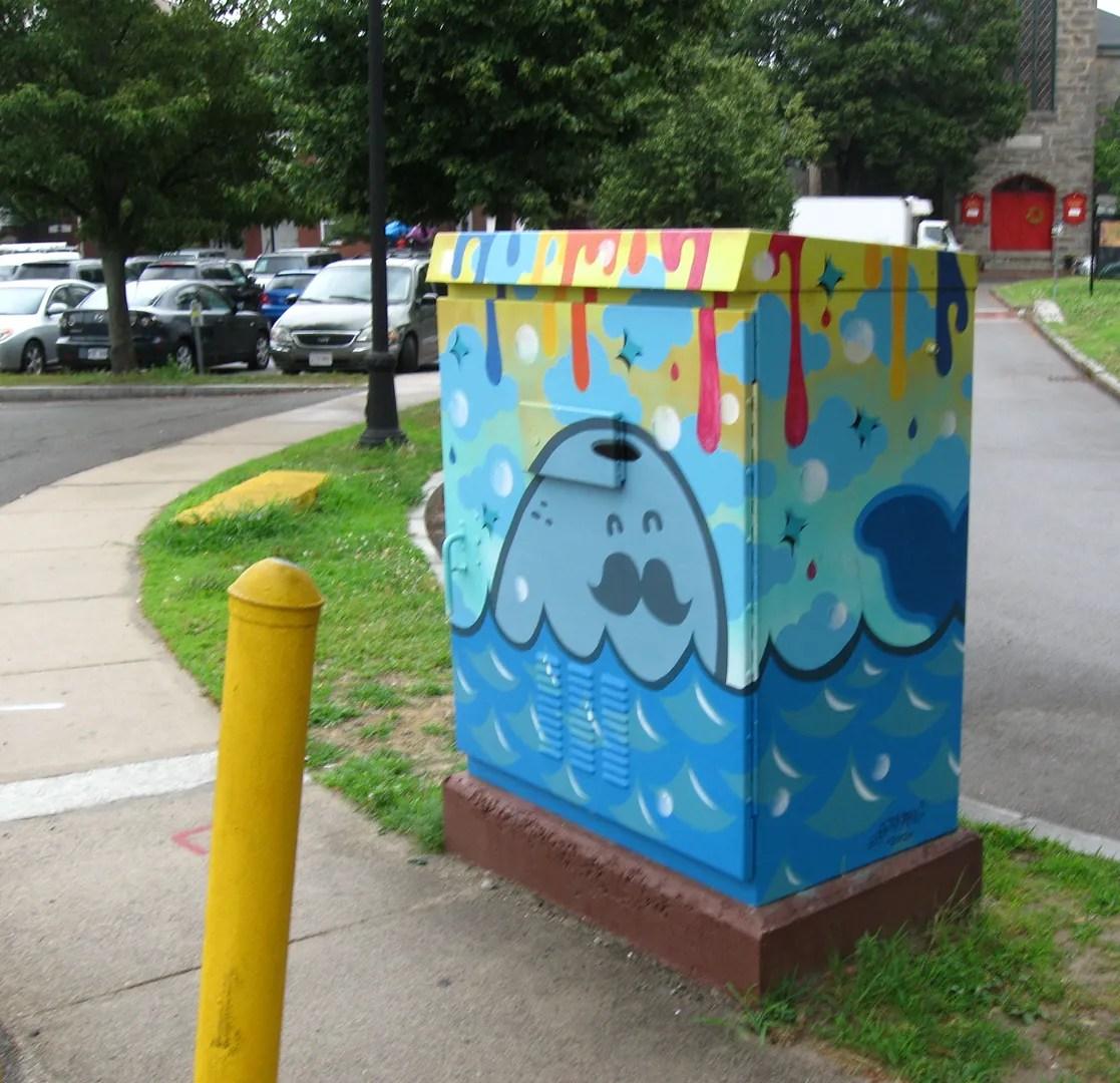 whale ArtBox, Salem, Massachusetts