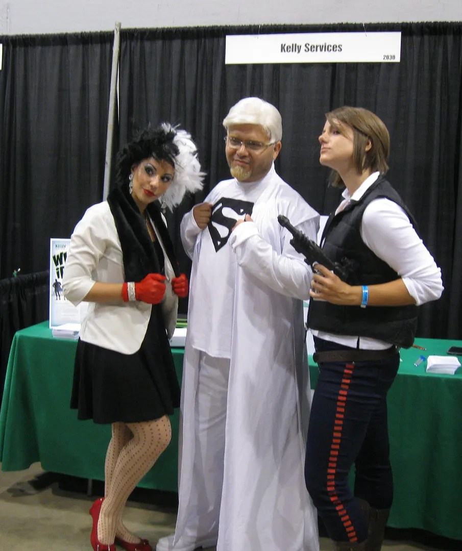 Jor-El, Cruella de Vil, Wizard World Chicago
