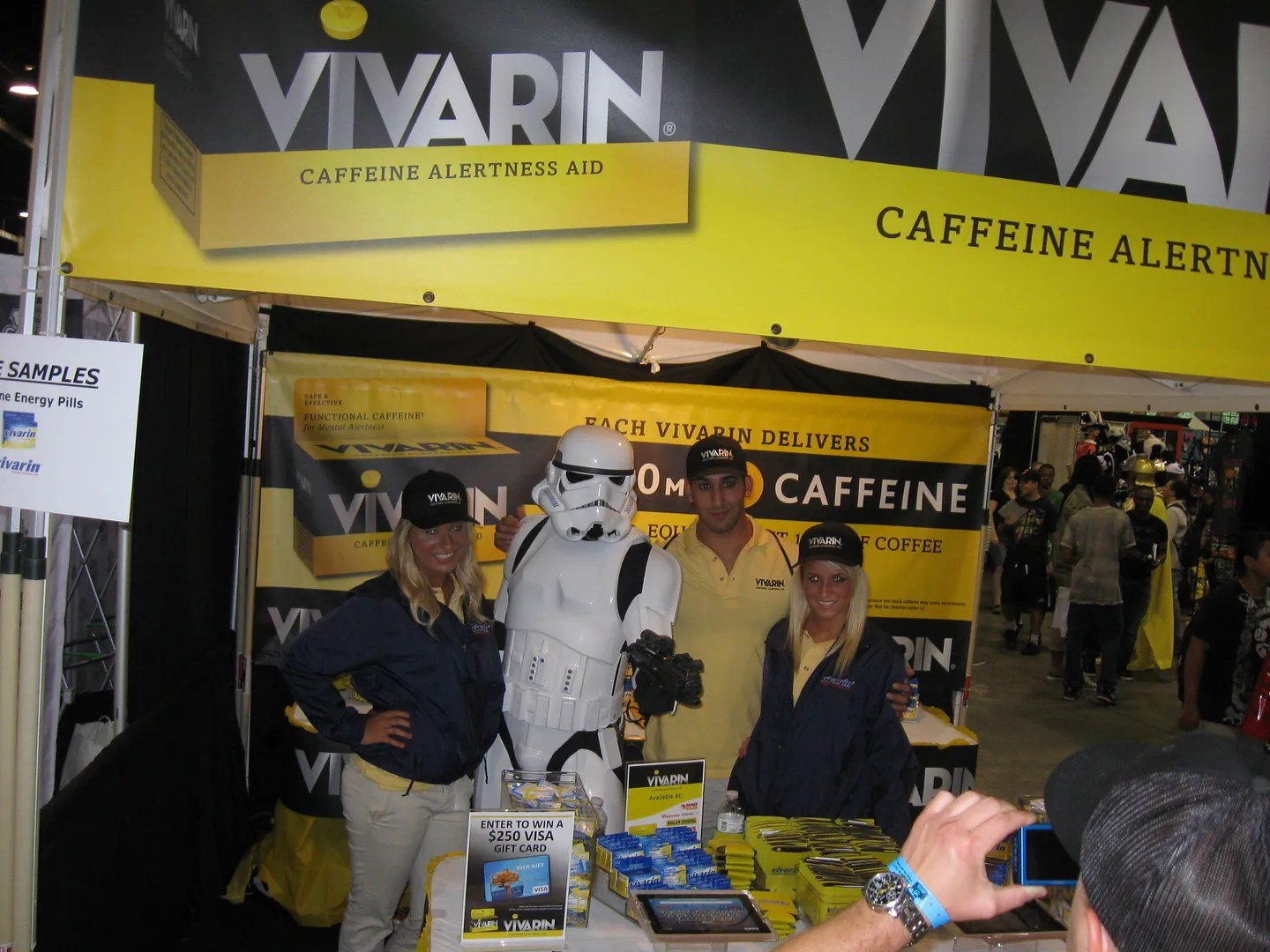 Vivarin Stormtrooper, Wizard World Chicago