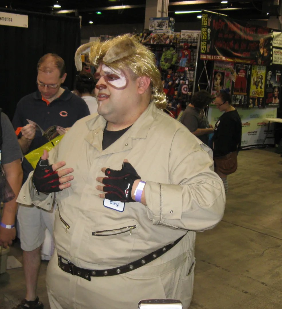 Barf, Spaceballs, Wizard World Chicago 2013