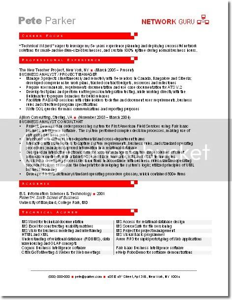 Big Four Resume Sample. inglês modelos de curriculum resume vagas ...