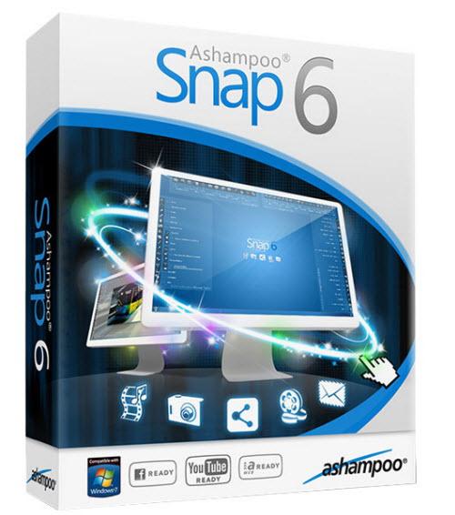 Ashampoo Snap 6.0.3 Multilanguage
