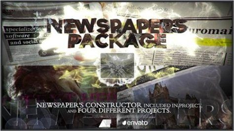 Newspapers Package - After Effects Project (Videohive)