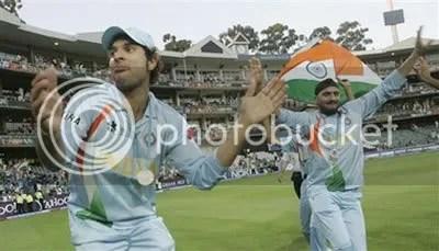 Harbhajan Singh and Yuvraj Singh