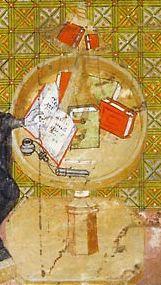 mobilier de scriptorium armarium etc