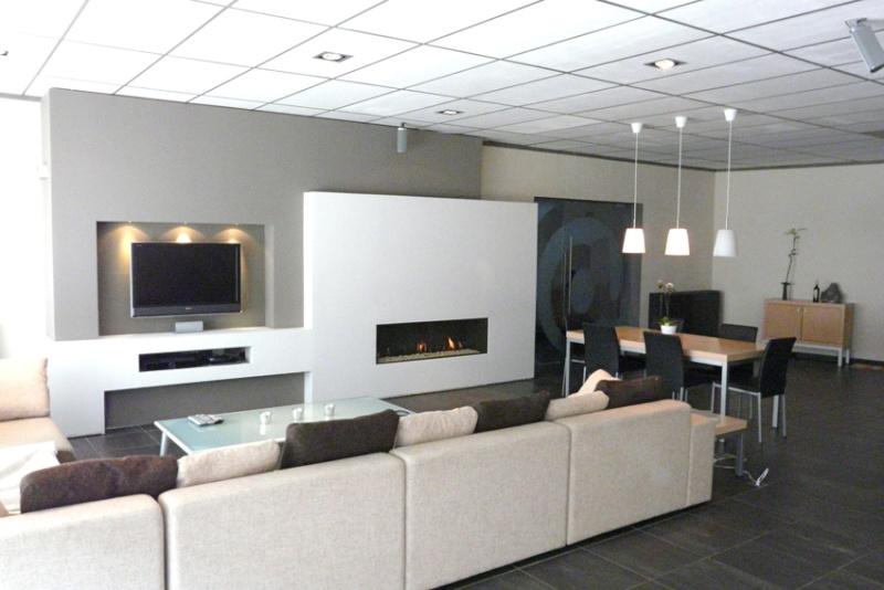 Meuble Tv Placo Design Placoplatre Decoration Tv Gascity