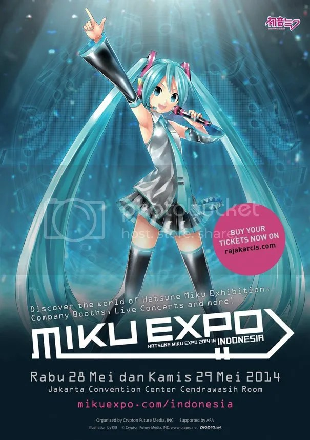 Un Miku Expo exclusivo para Mexico