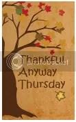 Thankful Anyway Thursday