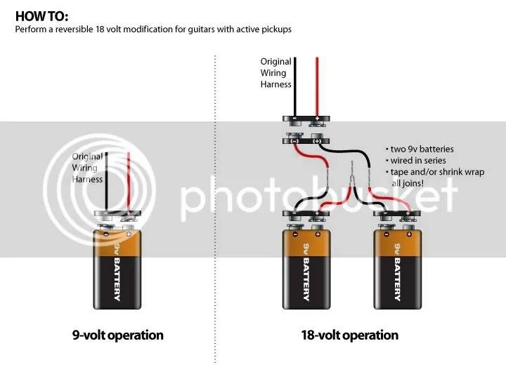 EMG 18-volts mod