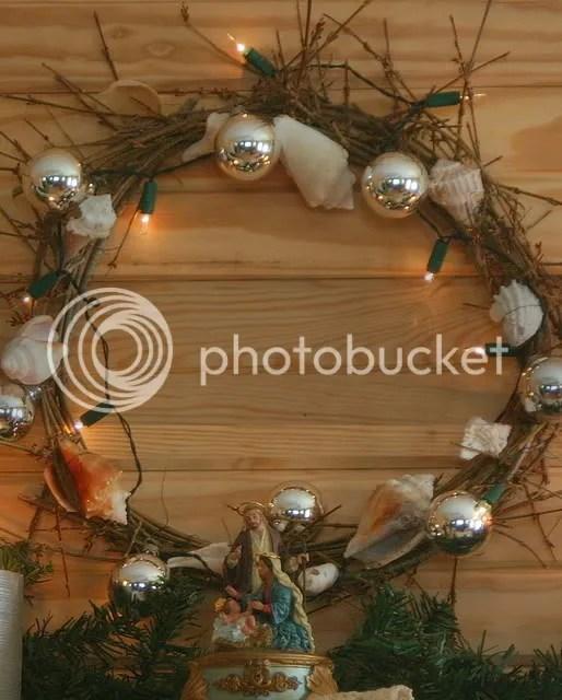 The sea-shell wreath