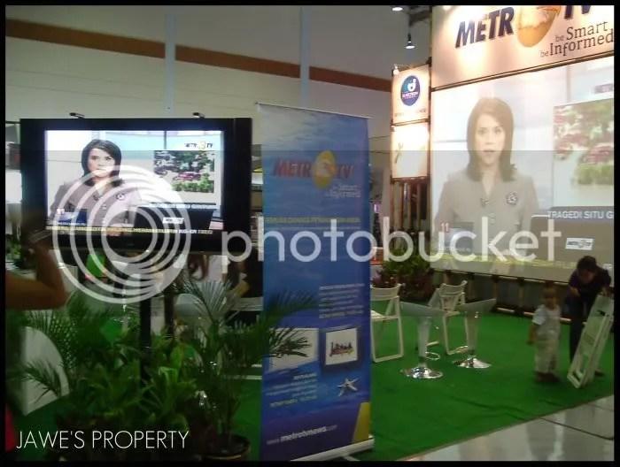 Suasana booth Metro TV