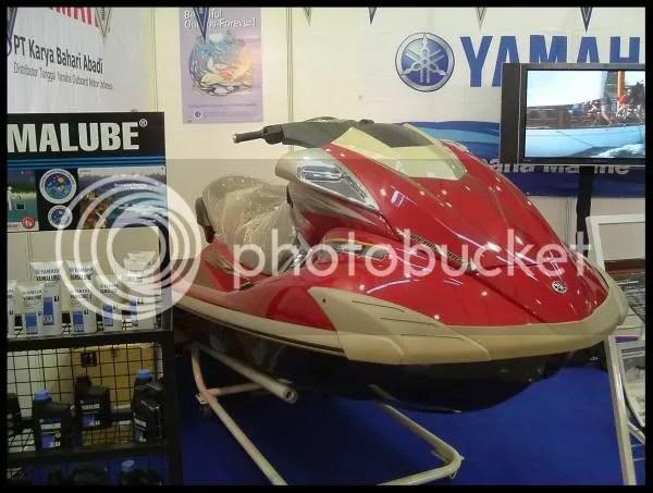 Speedboat-nya Yamaha